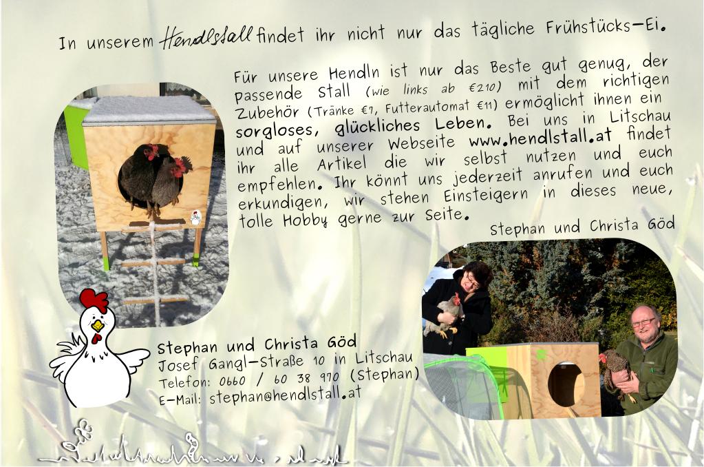 Unser neuer Flyer für euch Hühnerhalter der Zukunft.