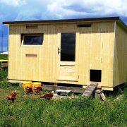 Unser größter Hendlstall / Hühnerstall für bis zu 32 Hennen