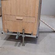 Mobiler Hendlstall Anhänger passend zu Hendlsuite L und XL
